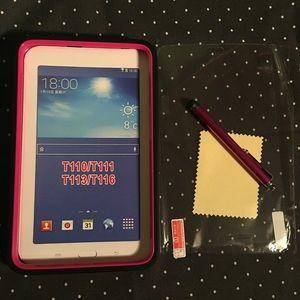 Accessories - Samsung Galaxy Tab E Lite Case